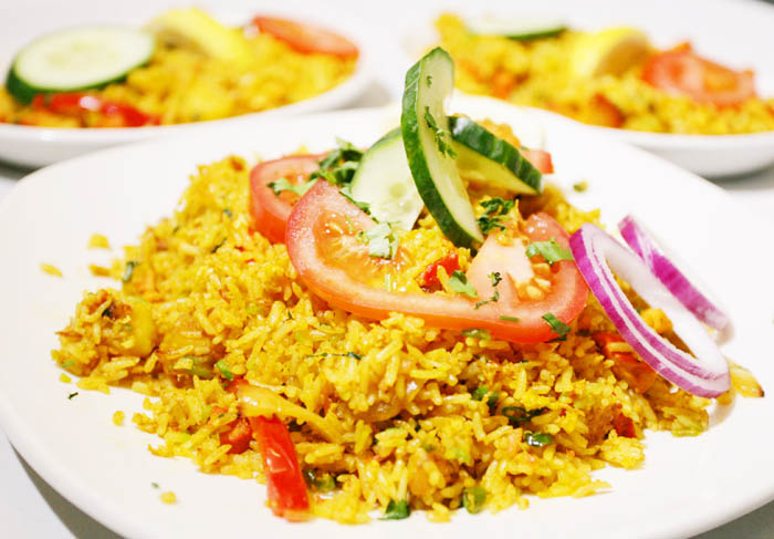 Chicken Tikka Biryani - The Akash Indian Restaurant ...