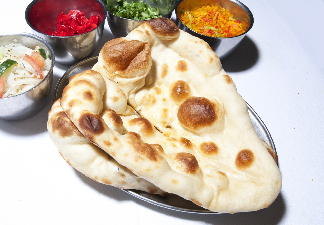 Cheese Naan The Akash Indian Restaurant Southsea Portsmouth